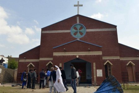 Pakistan.aanslag.kerk