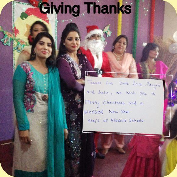 Pakistan.MissionSchools.Kerst.wish